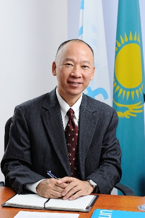 Jun Kukita. Photo courtesy of www.unicef.kz