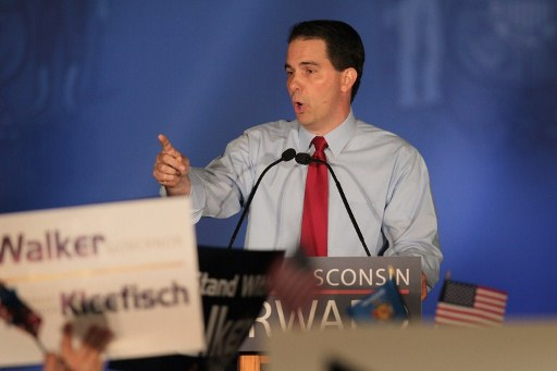 Wisconsin Governor Scott Walker. ©AFP