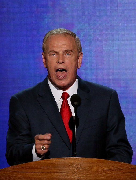 Former Ohio Gov. Ted Strickland. ©AFP