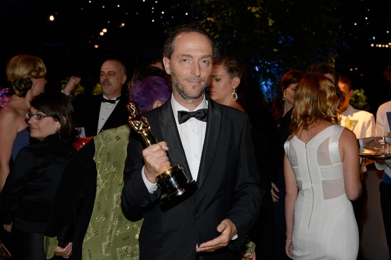 Cinematographer Emmanuel Lubezki, winner of Best Achievement in Cinematography.©AFP