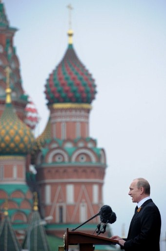 Russia's newly-inaugurated President Vladimir Putin. ©AFP