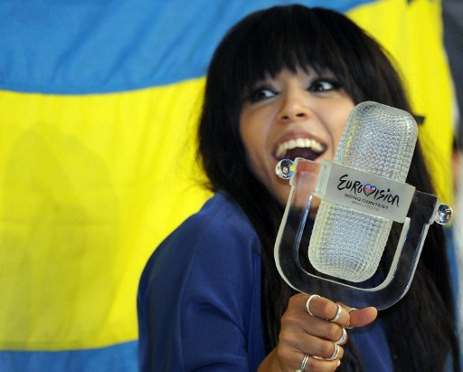 Sweden's Loreen, the winner of the Eurovision 2012. ©AFP