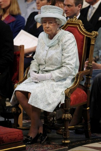Britain's Queen Elizabeth II. ©AFP