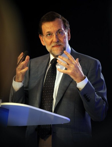 Spain's Prime Minister Mariano Rajoy. ©AFP