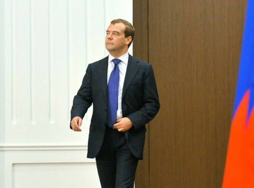 Russia's Prime Minister Dmitry Medvedev. ©AFP