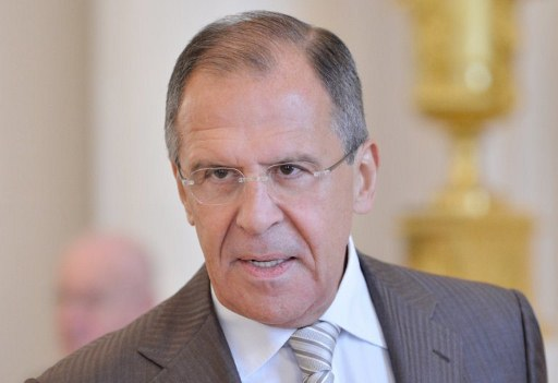 Russian Foreign Minister Sergei Lavrov. ©AFP
