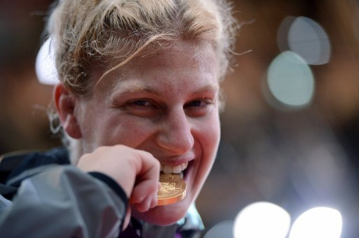 United States' Kayla Harrison. ©AFP