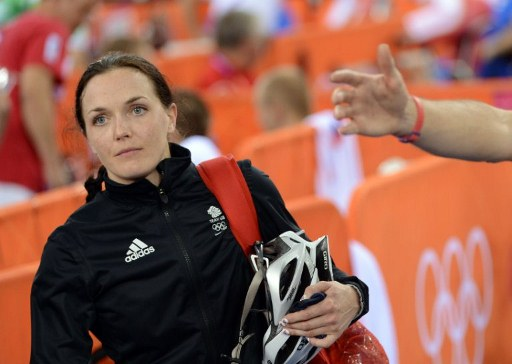 Great Britain's Victoria Pendleton. ©AFP