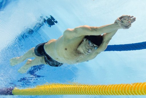 US swimmer Michael Phelps. ©AFP
