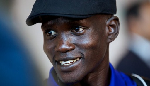 South Sudanese marathon runner Guor Marial. ©AFP
