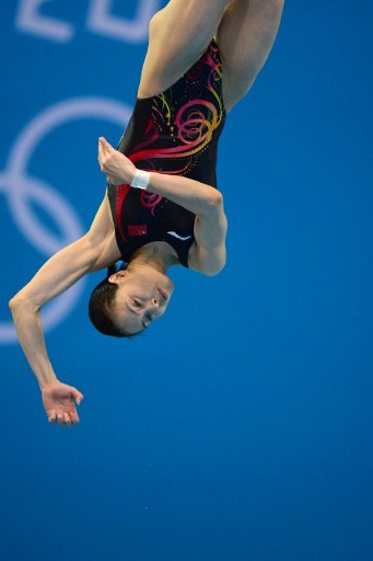 China's Wu Minxia. ©AFP