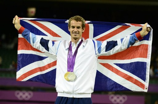Great Britain's Andy Murray. ©AFP