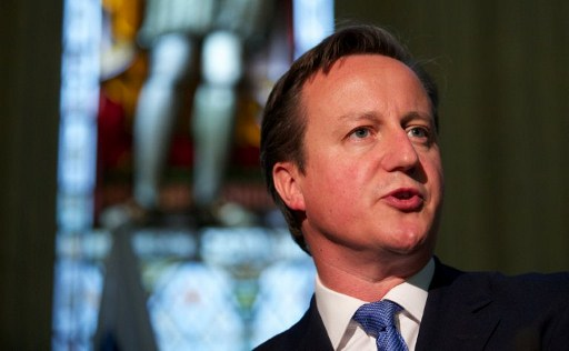 Britain's Prime Minister David Cameron. ©AFP
