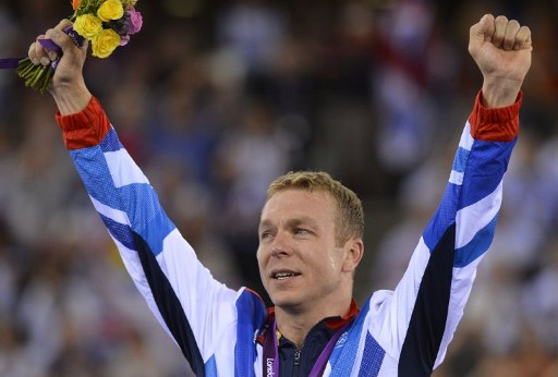 Great Britain's Chris Hoy. ©AFP