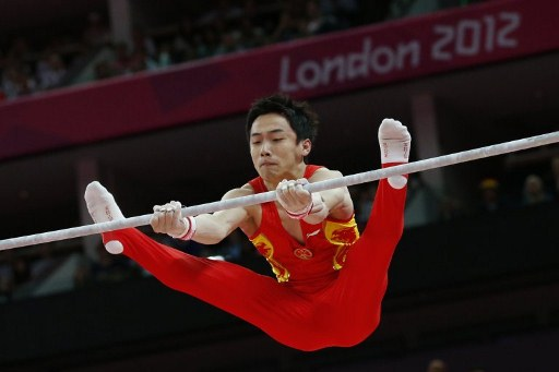 China's Zou Kai. ©AFP