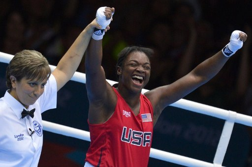 Claressa Shields of the USA. ©AFP