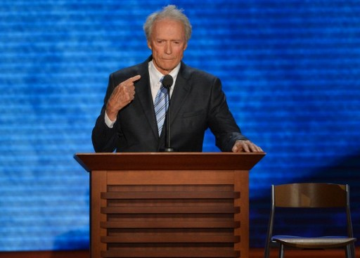 Actor-director Clint Eastwood. ©AFP