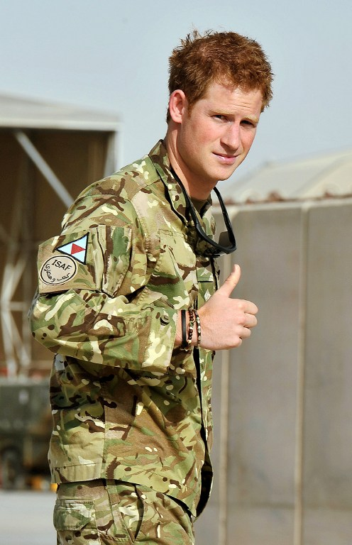 Britain's Prince Harry. ©AFP