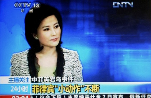 A TV grab from CCTV taken on May 7, 2012 shows He Jia. ©AFP PHOTO/CCTV