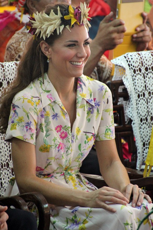 Catherine, the Duchess of Cambridge. ©AFP
