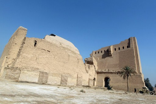 The archaeological site of Madaen, south of Baghdad. ©AFP