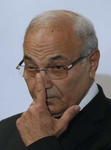 Egyptian presidential runoff candidate Ahmed Shafiq. ©AFP