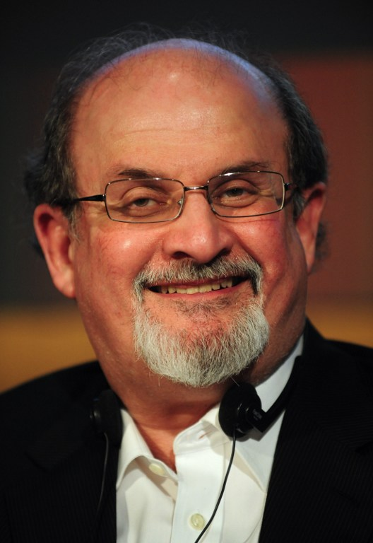 British writer Salman Rushdie. ©AFP