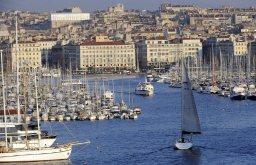Marseille, southern France, general view of the harbour. ©AFP