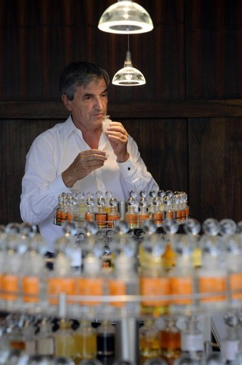 French Hermes's exclusive in-house perfumer, Jean-Claude Ellena. ©AFP