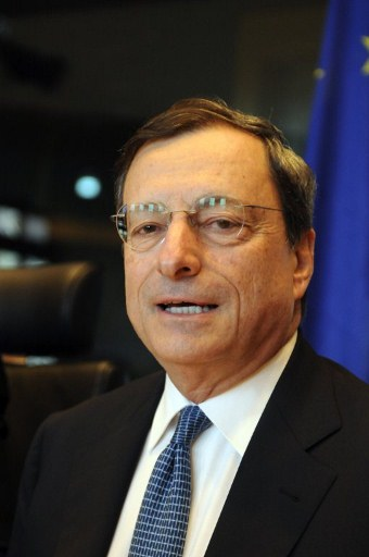 European Central Bank President Mario Draghi. ©AFP