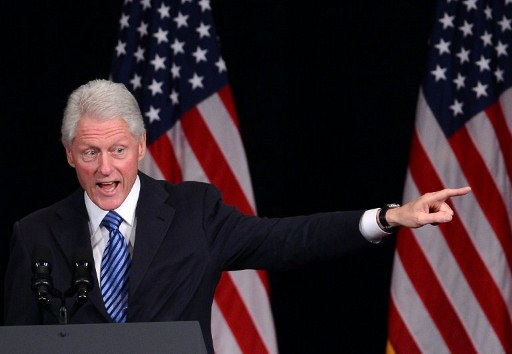 Former US President Bill Clinton. ©AFP