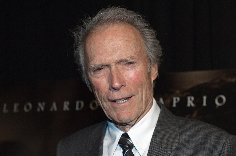 Actor/Director Clint Eastwood. ©AFP