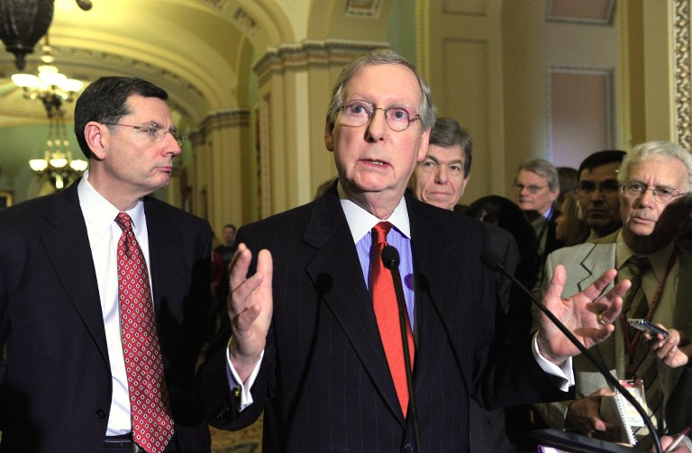 US Senate Minority Leader Mitch McConnell. ©AFP