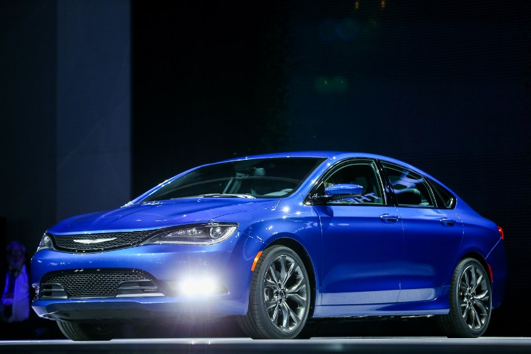 The Chrysler 200s is introduced at the 2014 North American International Auto Show in Detroit, Michigan, January 13, 2014.