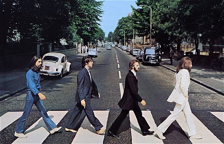 The Beatles: Abbey Road. Photo courtesy of alex-serdyuk.livejournal.com