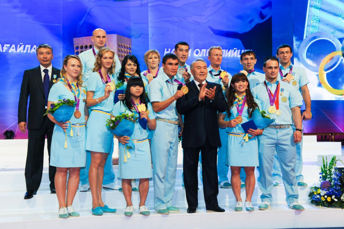 Kazakhstan Olympic winners