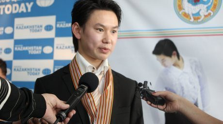 Denis Ten. Photo by Aizhan Tugelbayeva©