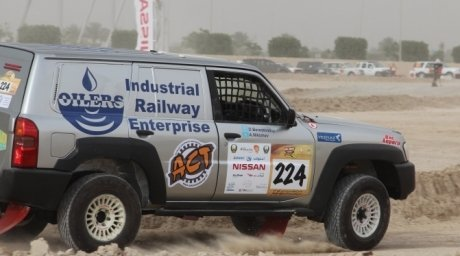 The offroader of Aleksei Nikizhev and Denis Berezovskiy. Tengrinews.kz©