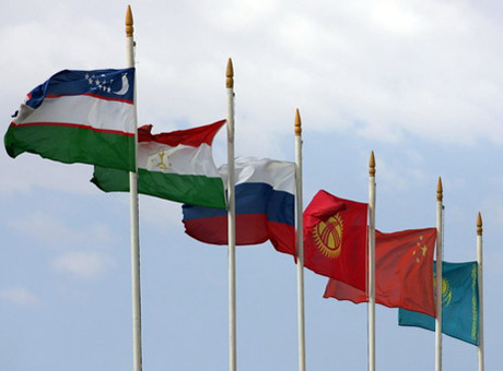 Flags of SCO member states. By RIA Novosti ©