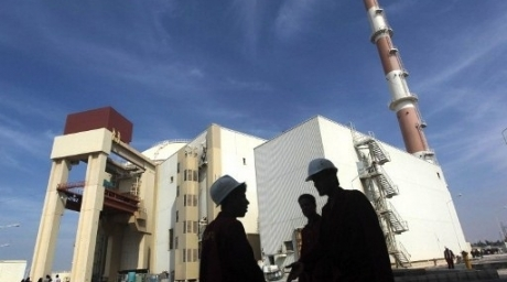 The reactor building at the Russian-built Bushehr nuclear power plant in southern Iran, 1200 Kms south of Tehran. ©AFP