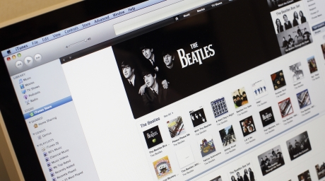 Apple's iTunes music store website. ©Reuters