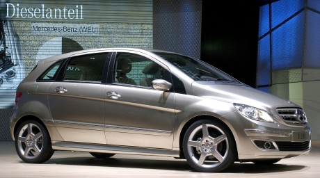 Mercedes-Benz B-class. ©REUTERS/Denis Balibouse