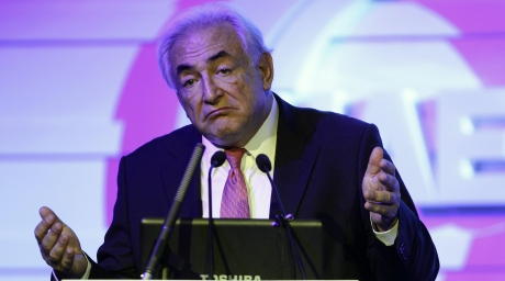 Former International Monetary Fund (IMF) chief Dominique Strauss-Kahn of France. ©REUTERS/Jason Lee