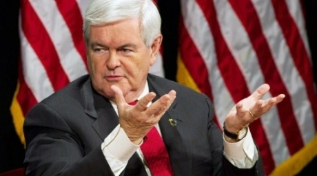 Republican Presidential Candidate Newt Gingrich. ©AFP