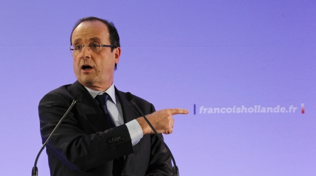 Francois Hollande, France's Socialist Party candidate for the 2012 French presidential election. ©REUTERS/Stephane Mahe