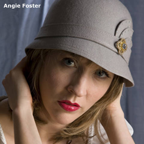 A publicity photo of singer and song writer Angie Foster. Photo courtesy of Angie Foster