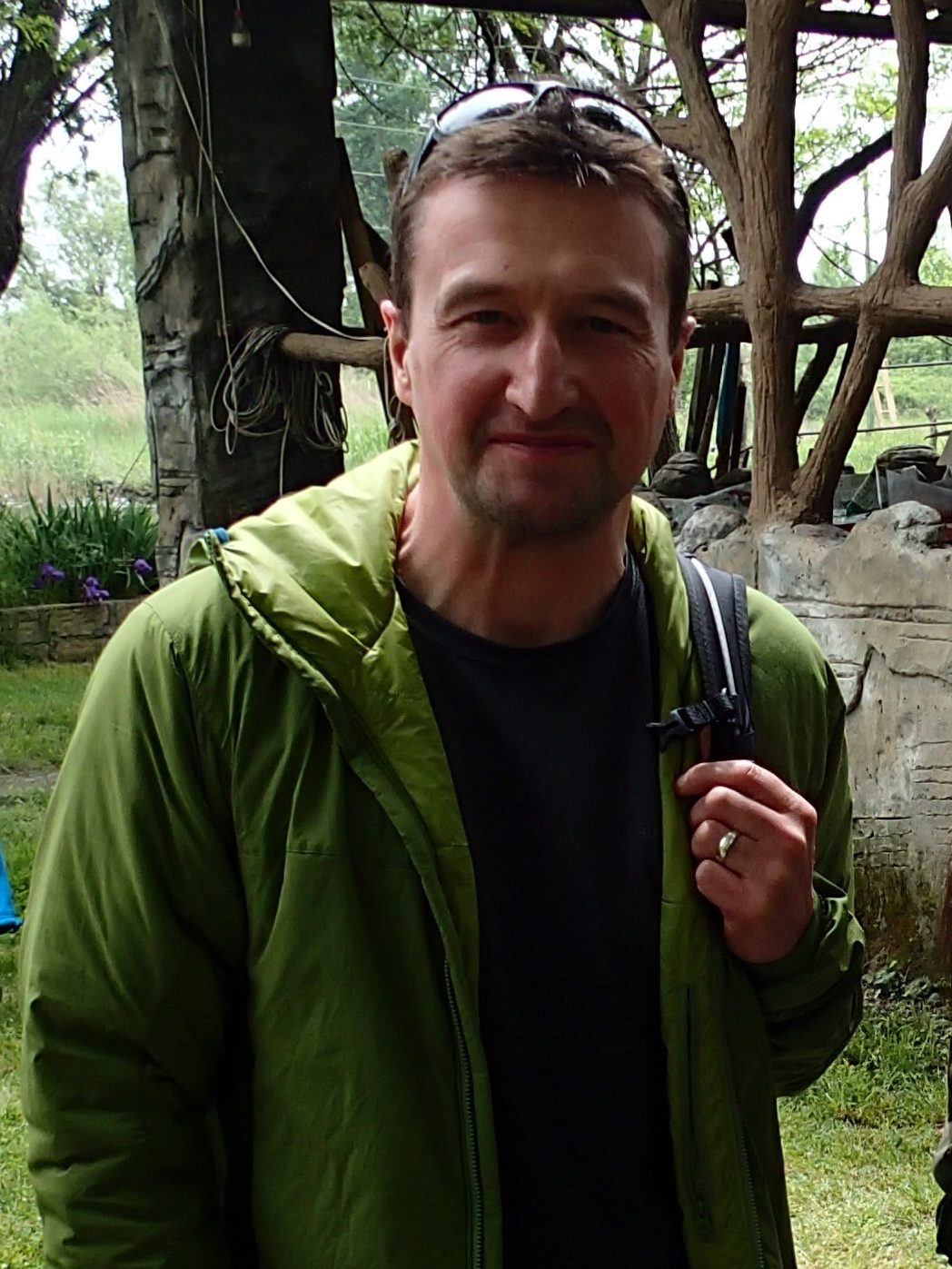 Dr. Ian Convery has studied snow leopards in Kyrgyzstan, too.