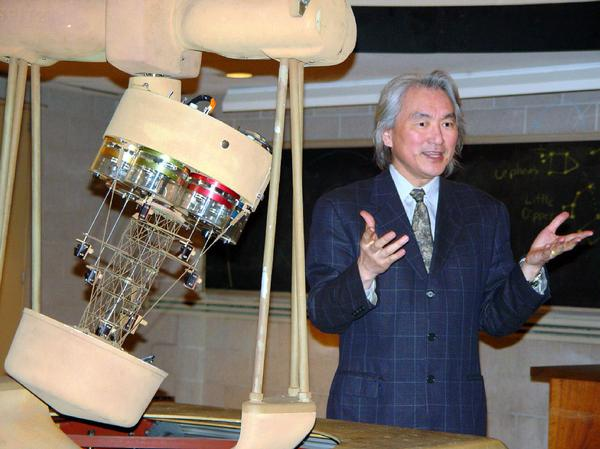 Hundreds of television appearances have made Dr. Michio Kaku the world's most recognized scientist. Photo courtesy of Dr. Michio Kaku