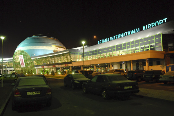 Astana International Airport. ©RIA Novosti