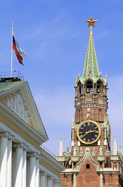 The Kremlin and the Russian flag. ©RIA Novosti